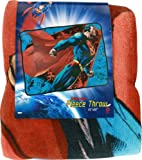 "Superman Fleece Throw Blanket 45"" x60"""