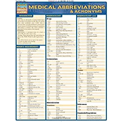Medical Abbreviations & Acronyms (Quick Study Academic)