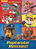 Puptacular Rescues! (Paw Patrol) (Jumbo Coloring Book)