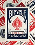 Bicycle Rider Back Standard Index Playing Cards (Pack of 12)