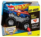 Hot Wheels Monster Jam Rev Tredz Superman Vehicle