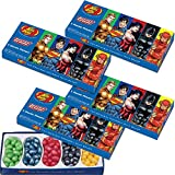(Set/4) Jelly Belly Gourmet Beans DC Comics Justice League 5 Flavor Gift Box