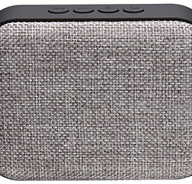 Live Tech Portable Yoga Bluetooth Wireless Speaker with Micro SD/AUX/Mic (Grey) 23