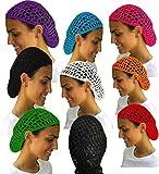 Value Pack- 12 Beautiful Hair Net Snoods