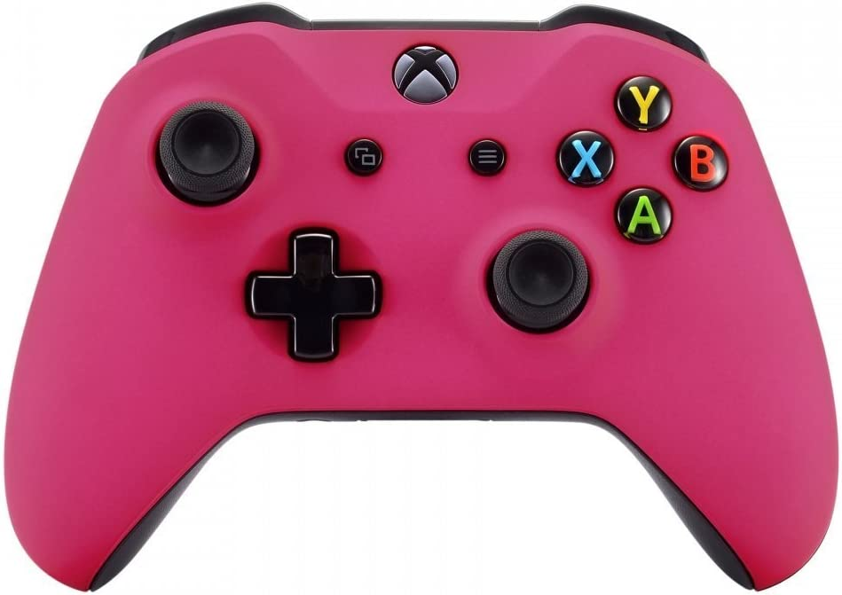 Manette sans Fil Xbox One pour Microsoft Xbox One sur Mesure – Soft Touch Sensation sur Mesure – Manette Xbox One Rose