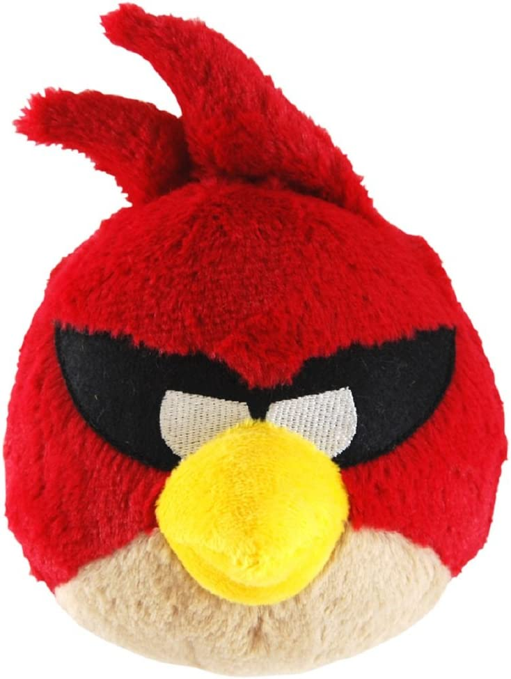 Amazon Com Angry Birds Space 5 Inch Red Bird With Sound Toys Games