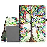 Fintie iPad Pro 9.7 Case, Premium Vegan Leather Folio [Slim Fit] Standing Smart Protective Cover with Auto Sleep/Wake Feature for Apple iPad Pro 9.7-inch 2016 Model Tablet, Love Tree
