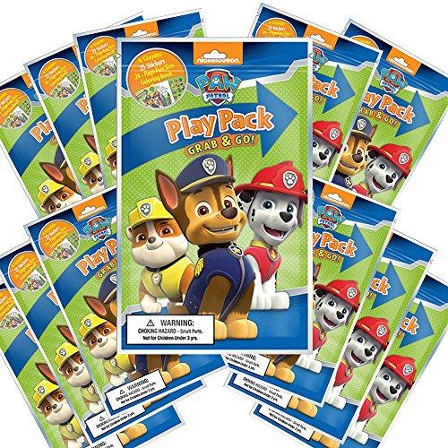 Nickelodeon Paw Patrol Grab and Go Play Packs (Pack of 12)