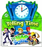 The Board Dudes LeapFrog 19437 SmartDudes LeapFrog Tell Time Dry Erase Book, 14 Pages (BDU19437)