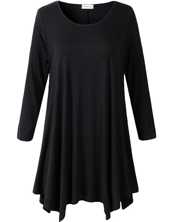 Blusa basica larga manga larga para mujerhttps://amzn.to/2SwZqto