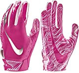 NIKE Adult Vapor Jet 5.0 Breast Cancer Awareness Receiver Gloves 2018 (Pink, Large)