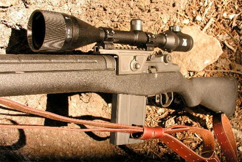 The Uses of an M1A Scope Mount
