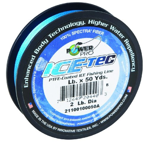 Power Pro 23300080050A Ice-Tec 50-Yard Ice Line, 8-Pound, Blue