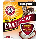 Church & Dwight Arm & Hammer Multi-Cat Litter, 40 Lbs (Packaging May Vary)