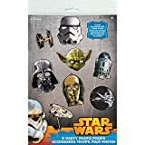 Classic Star Wars Photo Booth Props, 8pc
