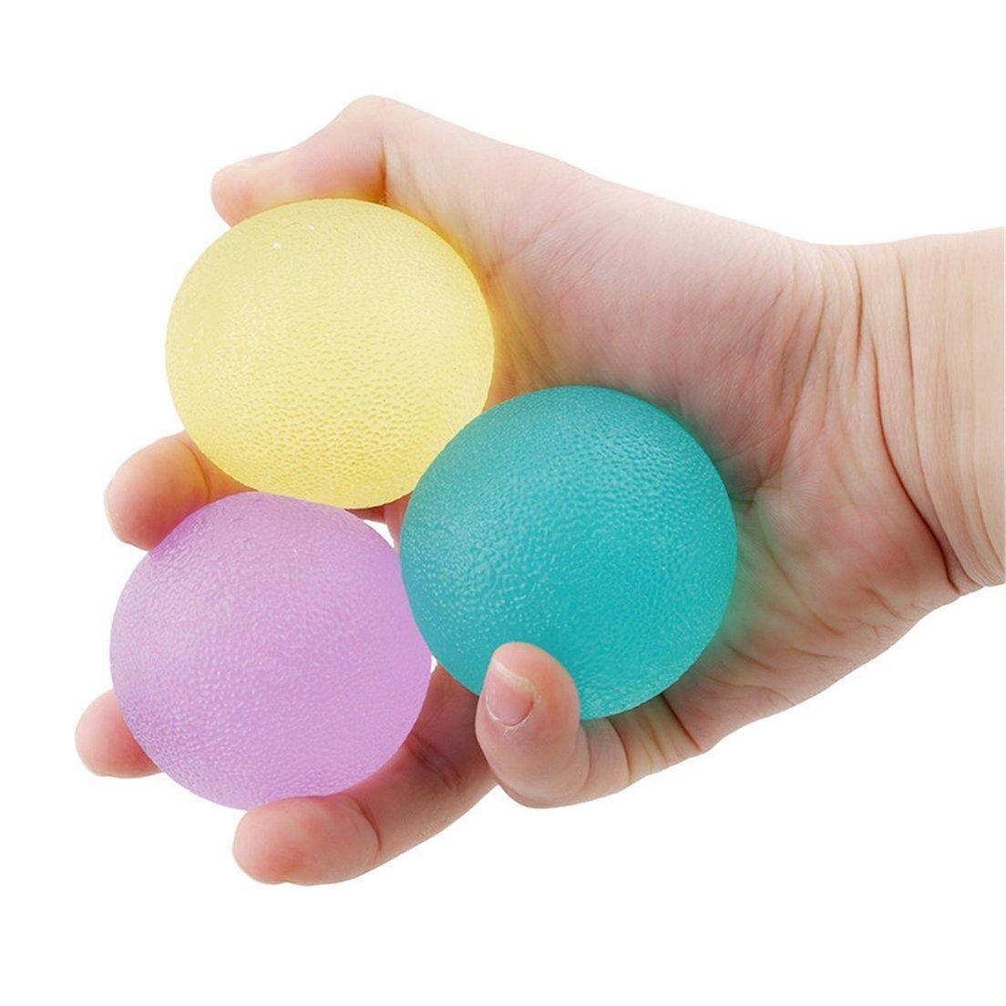 Lipower 握力用品 ボール トレーニング マッサージ感覚のトレーニング 握る力の強化 血行促進に効果