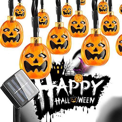 ifOlife-Halloween-String-Lights-Solar-Powered-30-LED-Pumpkin-Lights213Ft-8-Mode-Waterproof-Outdoor-Lights-for-Indoor-DecorHomeGardenPartyWeddingsPatio