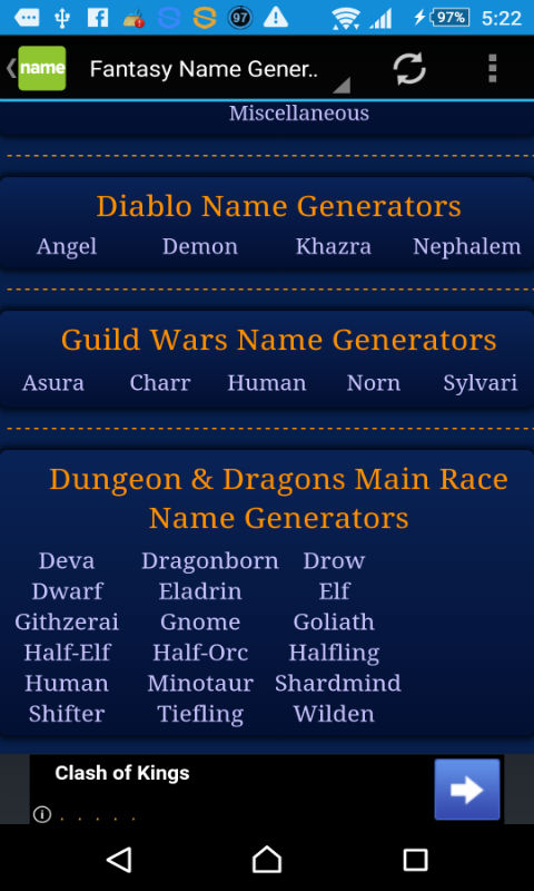 Amazon Com Name Generator Appstore For Android