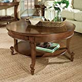 Magnussen Aidan Wood Round Cocktail Table