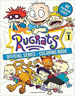 Rugrats Coloring Book Vol1 Funny Coloring Book With 40 Images For Kids Of All Ages With Your Favorite Rugrats Characters Amazon Co Uk Book Bbt Coloring 9798656872225 Books