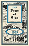 1929 Pages of Time Kardlet (PT1929) 90th Gift