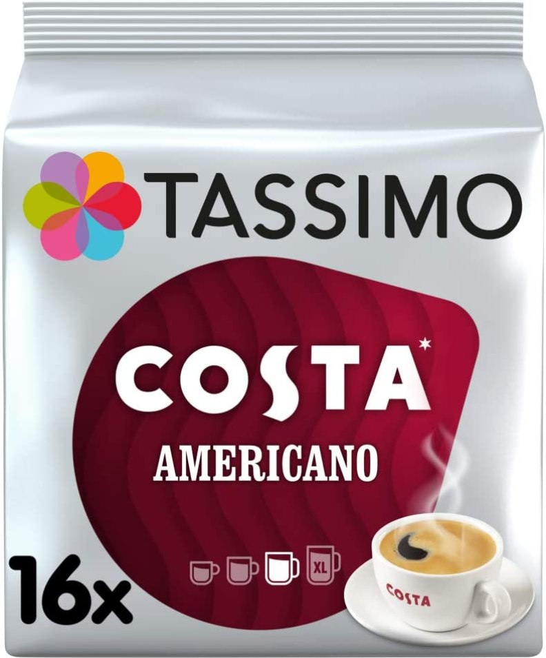 Costa Americano Coffee Pods
