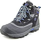 Khombu Men's Fleet Hiker Terrain Weather Rated Boots Grey/Blue