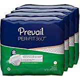Prevail Per-Fit 360 Degree Maximum Plus Absorbency Incontinence Briefs, Size 3, 60-Count