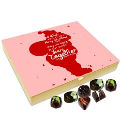 Chocholik Christmas Gift Box – I Wish You A Very Happy and Exciting Christmas Chocolate Box – 20pc