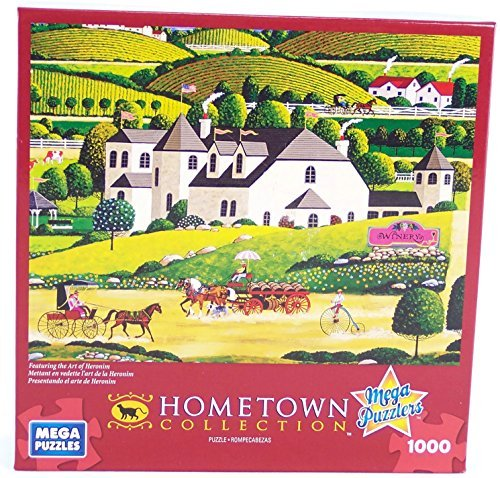 Hometown Collection Winery 1000 Piece Jigsaw Puzzle By Heronim by Mega Puzzles