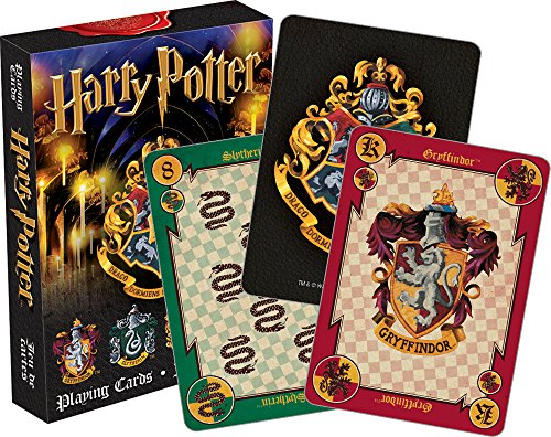 Harry Potter Playing Cards Aquarius Crests