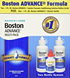 Bausch & Lomb Boston Advance Comfort Formula for Rigid Gas Permeable Contact Lenses - Two 4 oz Bottles Plus 1 oz Cleaner