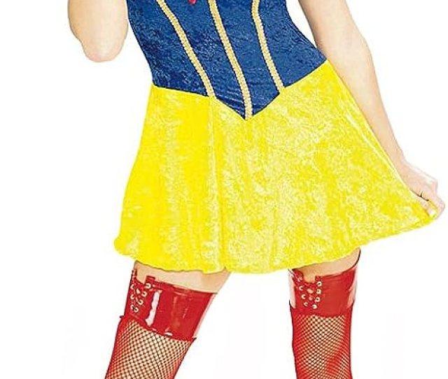 Amazon Com Sexy Snow White Costume Extra Small Clothing