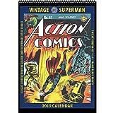 Vintage Superman 2019 Calendar: Classic DC Comics Covers