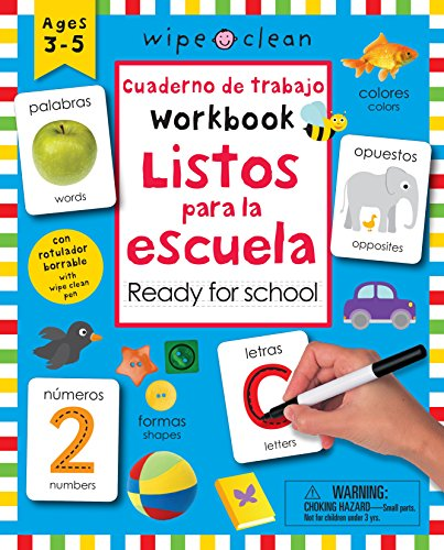 [DBexL.Download] Wipe Clean: Bilingual Workbook Ready for School (Wipe Clean Activity Books) (Spanish Edition) by Roger Priddy Roger Priddy K.I.N.D.L.E