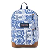 JanSport Cool Student Laptop Backpack - White Swedish Lace