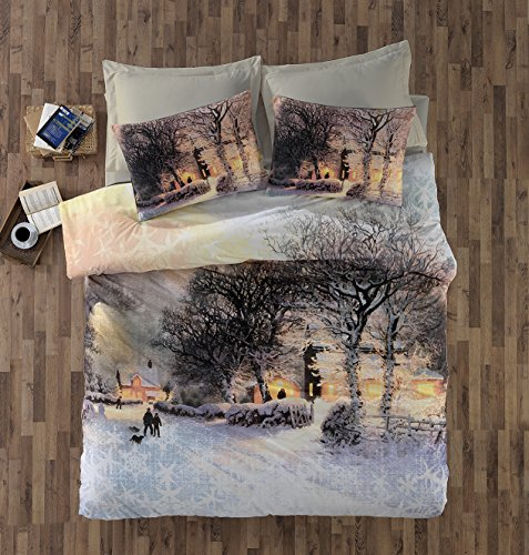 A Winter Themed Duvet Cover To Warm The Soul