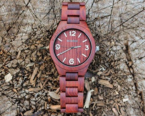 band on images treehutdesign has bamboo tan watches best hut minimalist tree wooden leather this watch mens pinterest treehut genuine wood a co handmade