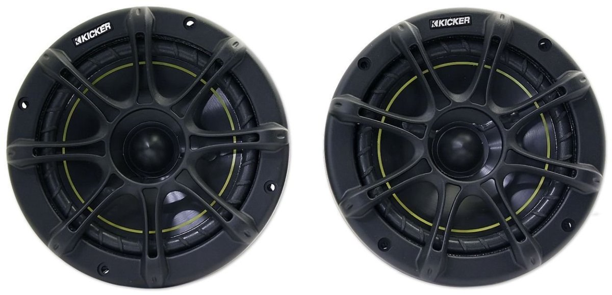 "Best Car Speakers Kicker DS65 6.5"" Coax Speakers"