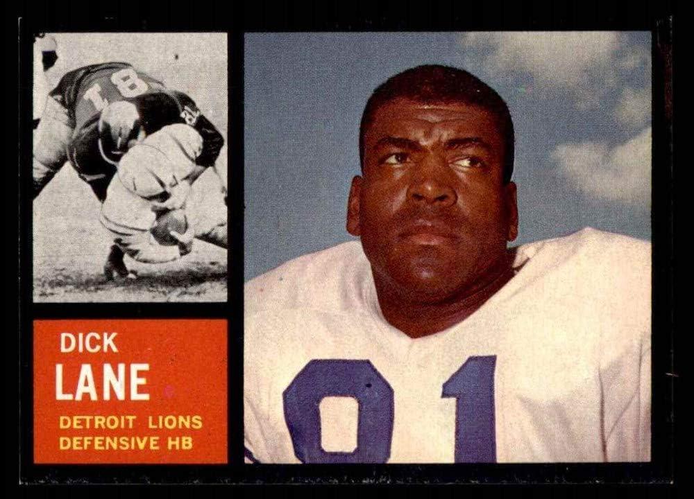 Amazon.com: 1962 Topps # 60 Dick Lane Detroit Lions (Football Card) NM Lions  W.Nebraska: Collectibles & Fine Art
