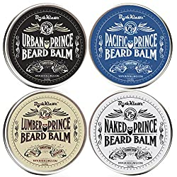 Urban Prince Beard Balm Leave in Conditioner Beard Butter Moisturizer Premium Refreshing Scent 2 oz - Best Leave in Conditioner Scented Beard Balm Gift Bearded Men  Image 3