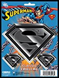 Chroma Graphics 3016 Classic Emblemz 3 piece Superman Decal