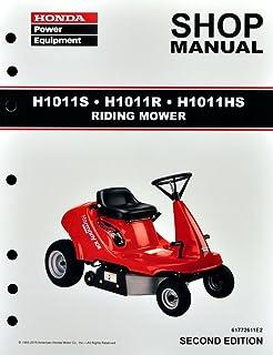 Honda H1011 Riding Mower Service Repair Manual