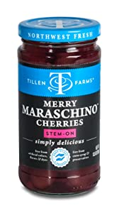 Tillen Farms Merry Maraschino Cherries