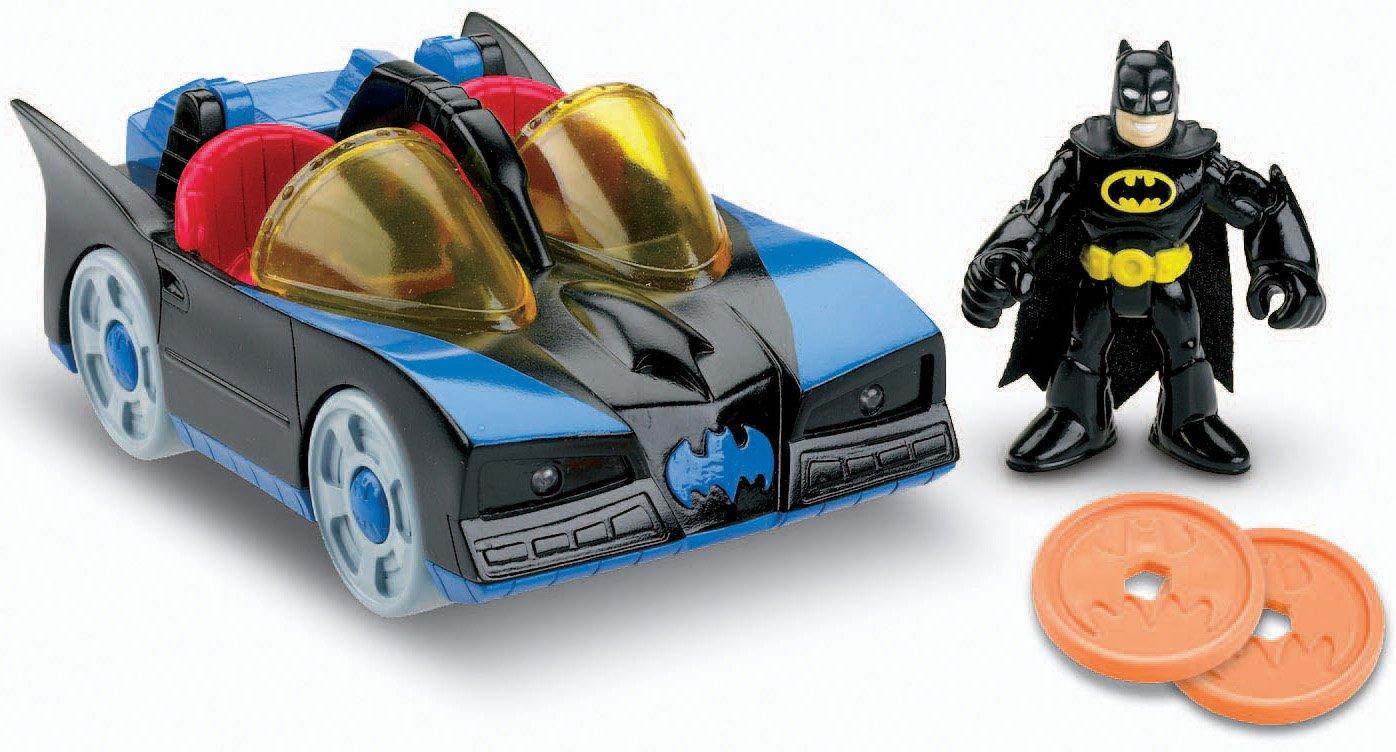 Imaginext DC Super Friends Batmobile with lights