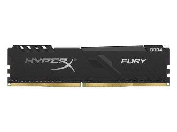 HyperX Fury 8GB 3200MHz DDR4 CL16 DIMM 1Rx8  Black XMP Desktop Memory (HX432C16FB3/8)
