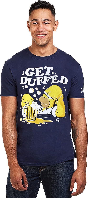 The Simpsons Get Duffed Camiseta para Hombre