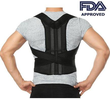 Comfort Posture Corrector Back Support Brace Improve Posture and Provide Lumbar Support