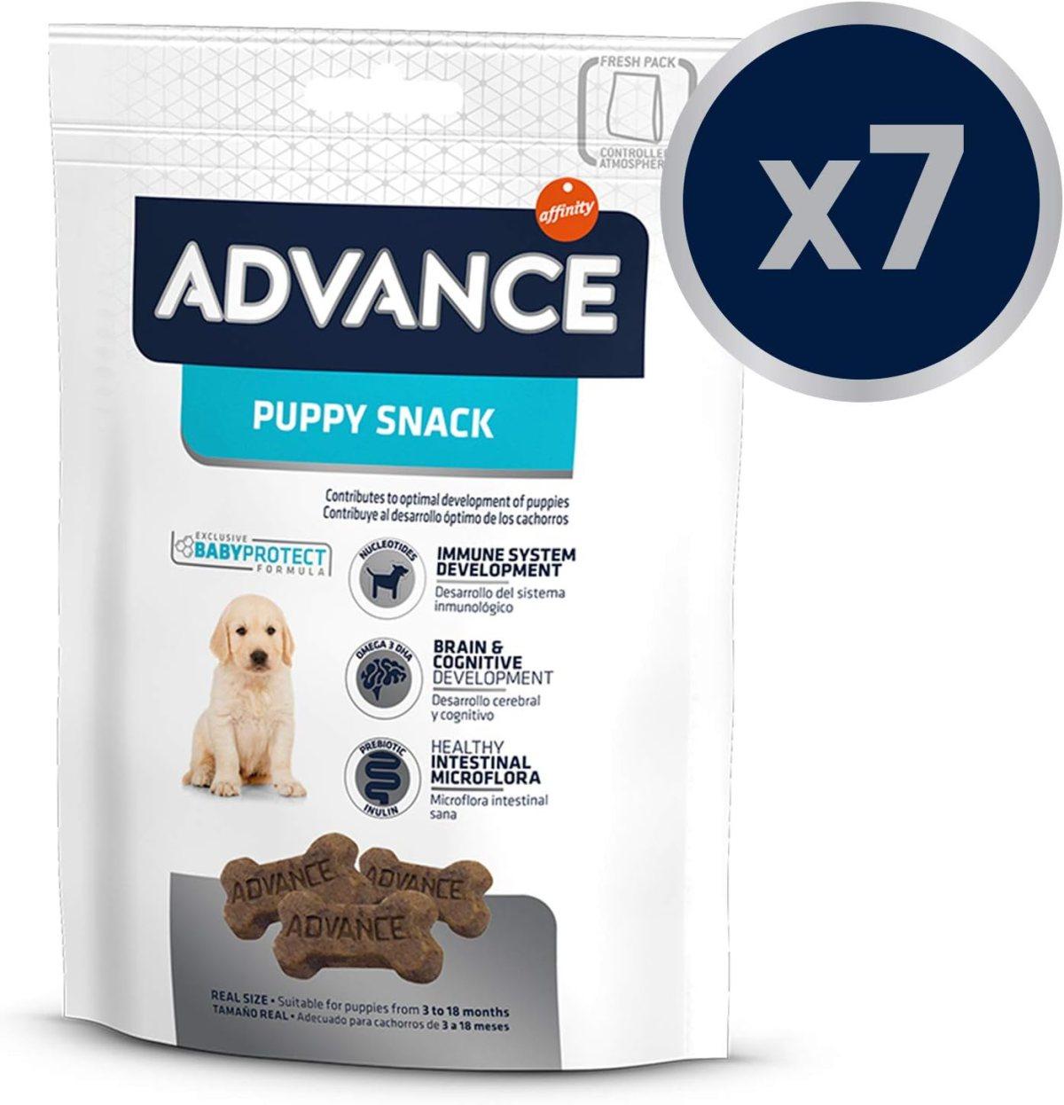 Snacks Para Perro Puppy - Paquete de 7 x 150 gr