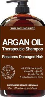 Argan Oil Shampoo Restores Hair - Argan Oil for Hair